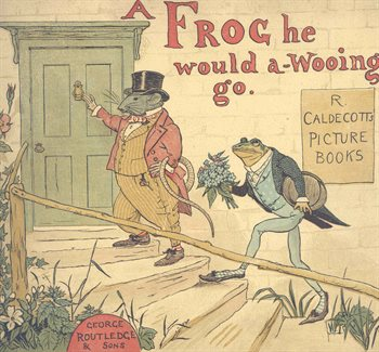 frog going wooing